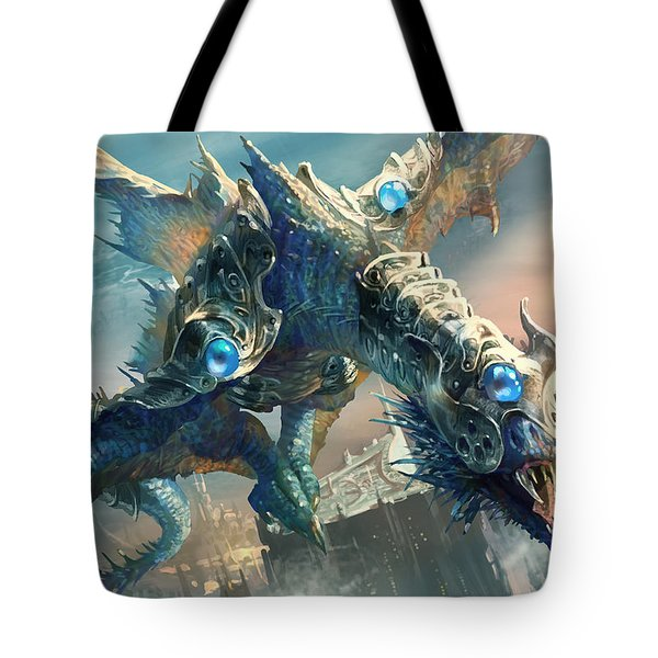 Tower Drake Tote Bag by Ryan Barger
