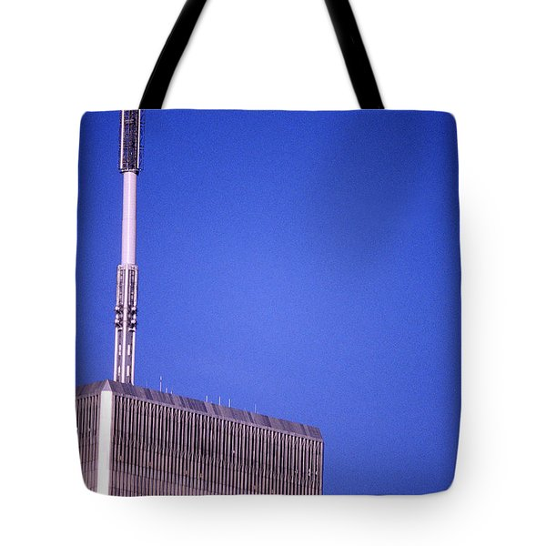 Tower One Tote Bag by Jon Neidert