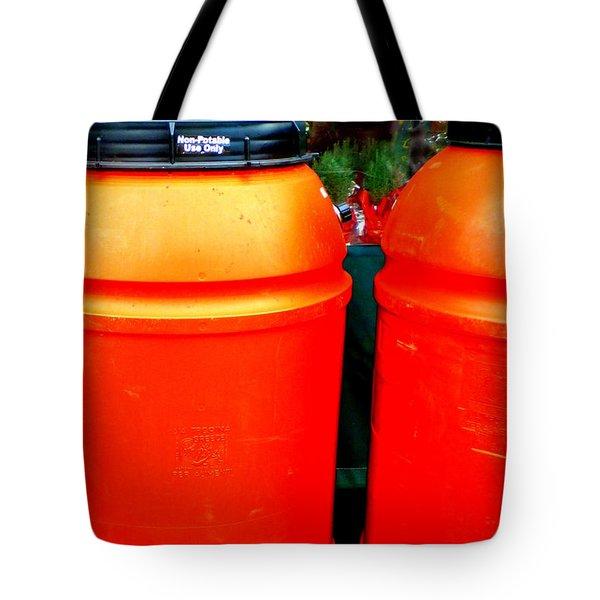 Toxic Waste Tote Bag by Renee Trenholm