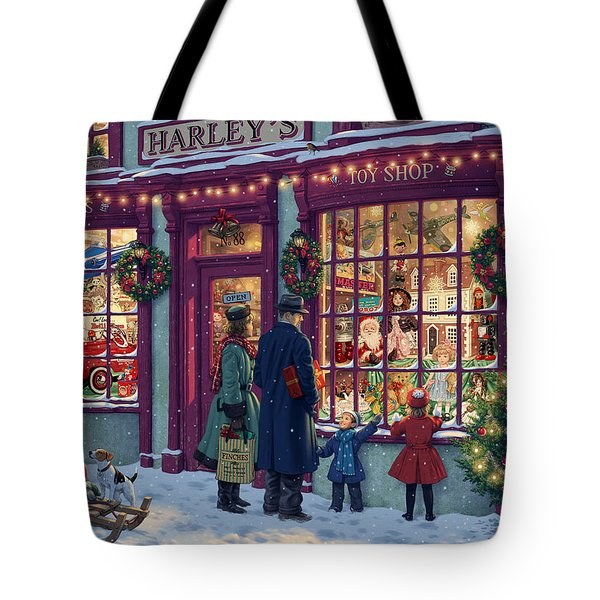 Toy Shop Variant 2 Tote Bag by Steve Read
