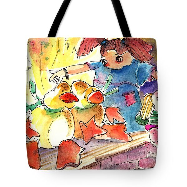 Toy Story In Lanzarote 02 Tote Bag by Miki De Goodaboom