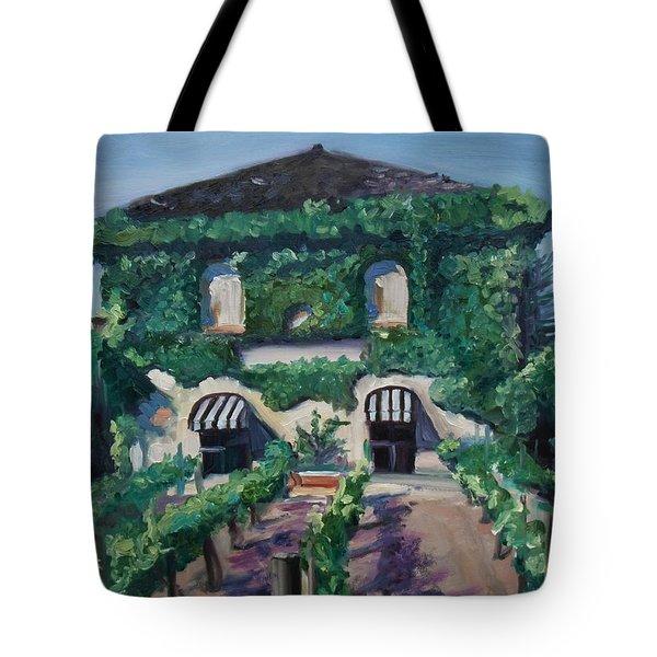 Tra Vigne Tote Bag by Donna Tuten