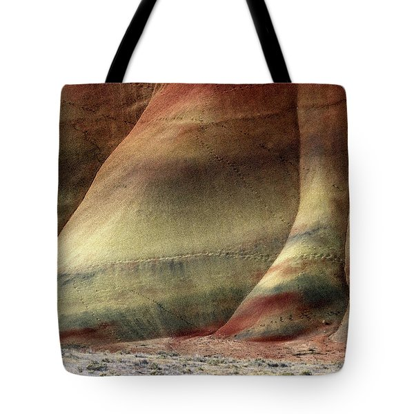 Traces Of Life Tote Bag by Mike  Dawson