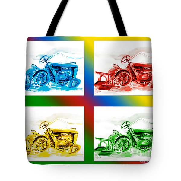 Tractor Mania II Tote Bag by Kip DeVore