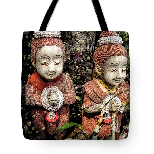 Traditional Thai Welcome Tote Bag by Adrian Evans