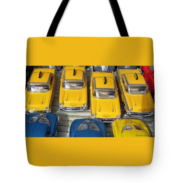 Traffic Jam Tote Bag by Leena Pekkalainen