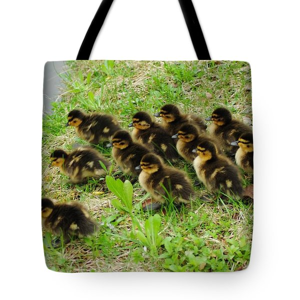 Traffic Jam Tote Bag by Frozen in Time Fine Art Photography
