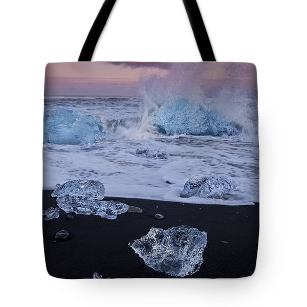 Trail Of Diamonds Tote Bag by Evelina Kremsdorf