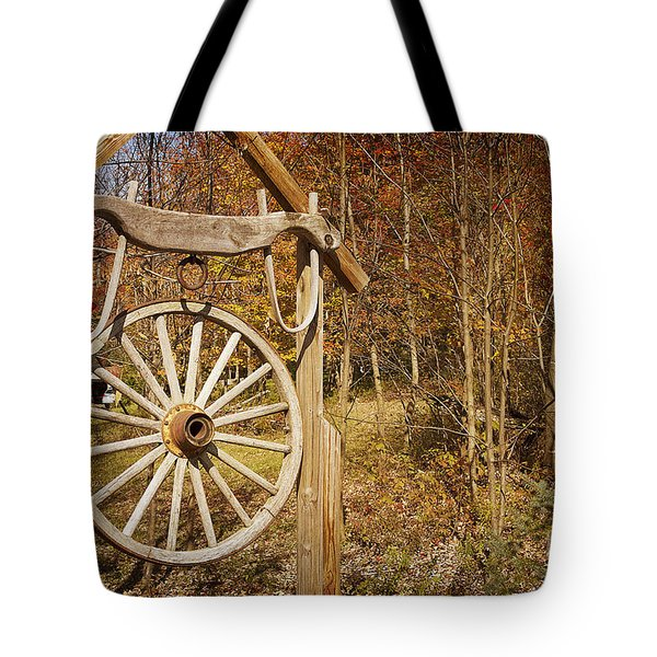 Trail's End Tote Bag by A New Focus Photography