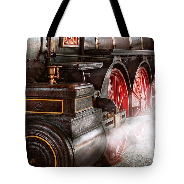 Train - Let Off Some Steam  Tote Bag by Mike Savad