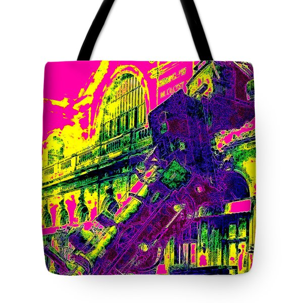 Train Wreck At Montparnasse Station 20130525 Tote Bag by Wingsdomain Art and Photography