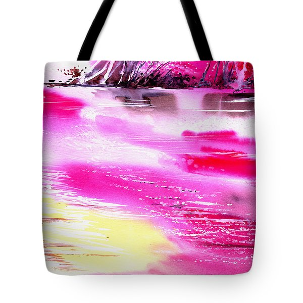 Tranquil 2 Tote Bag by Anil Nene