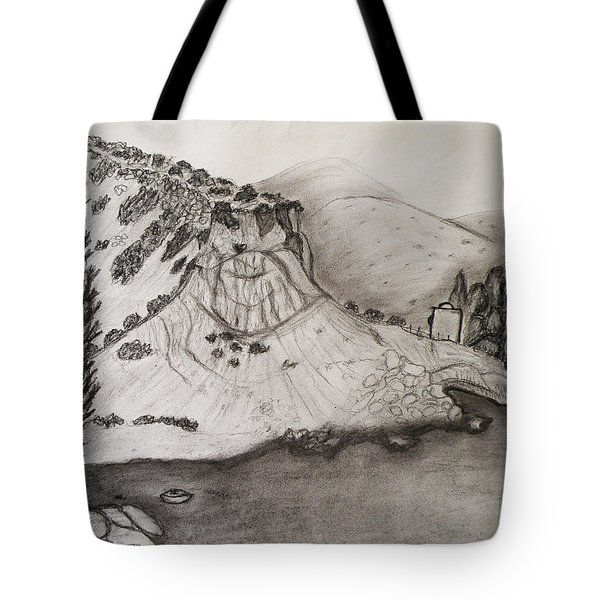 Tranquility Tote Bag by Augusta Stylianou