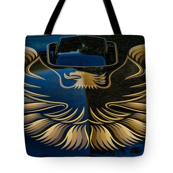 Trans Am Eagle Tote Bag by Paul Ward
