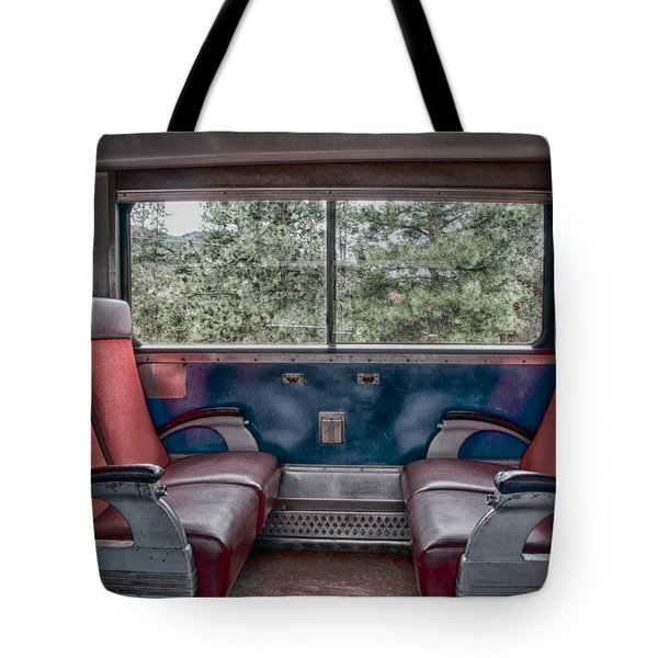 Trans Siberian Express Tote Bag by Trever Miller