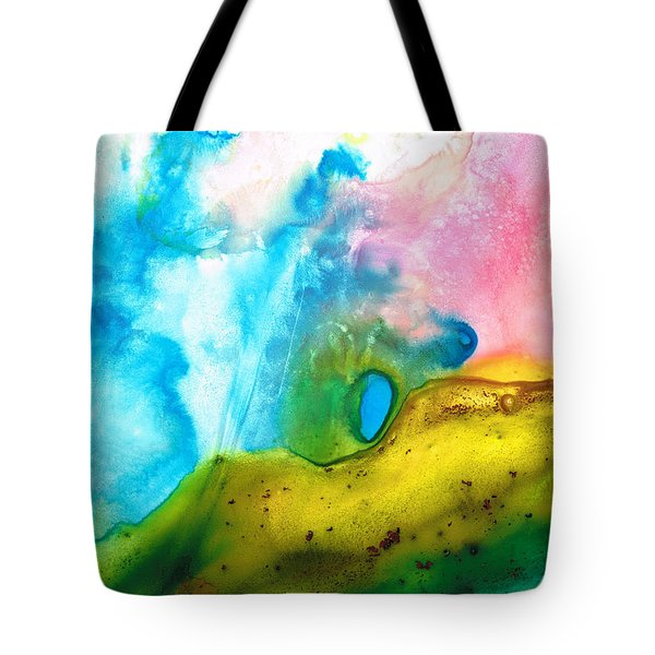 Transformation - Abstract Art By Sharon Cummings Tote Bag by Sharon Cummings