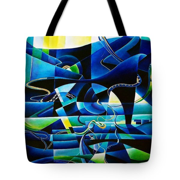 transitions Tote Bag by Wolfgang Schweizer