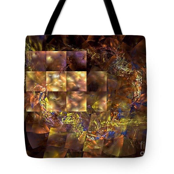 Translucence Tote Bag by Olga Hamilton