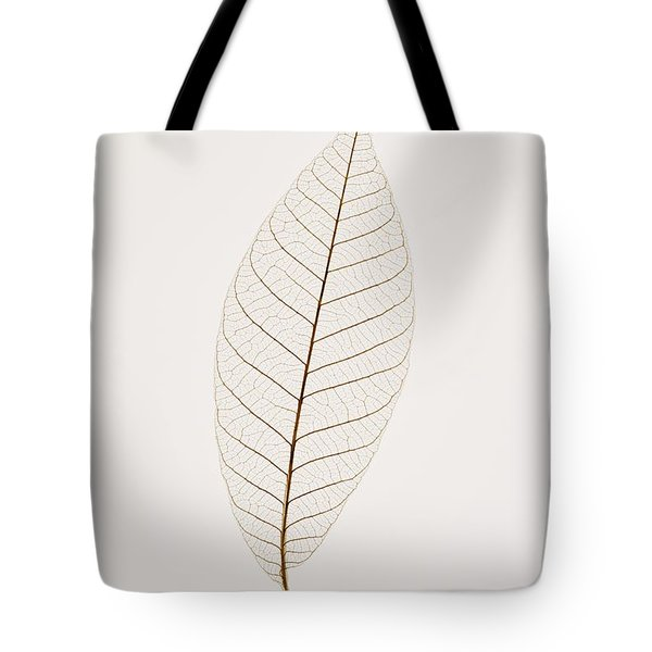 Transparent Leaf Tote Bag by Kelly Redinger