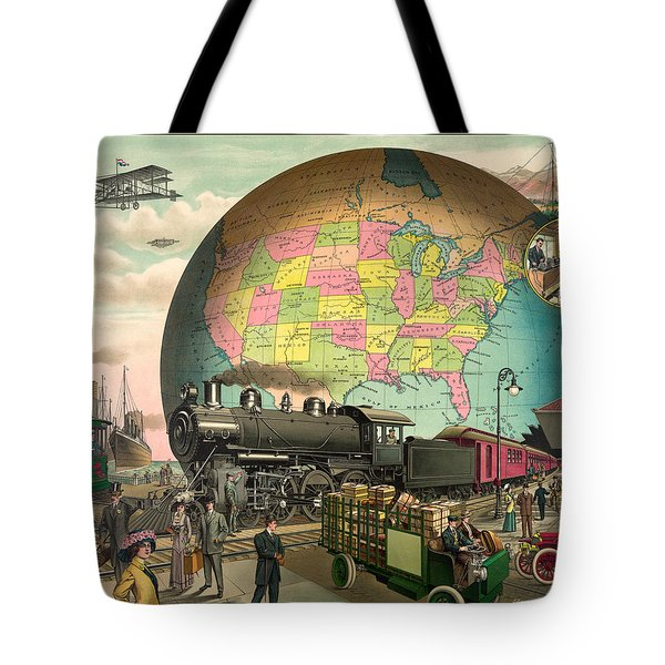 Transportation Tote Bag by Gary Grayson