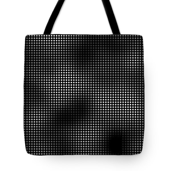 Trapped In The 5th Dimension Tote Bag by Daniel Hagerman