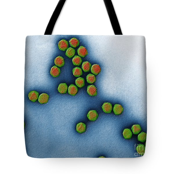 Trasmission Electron Micrograph Tote Bag by Eye of Science