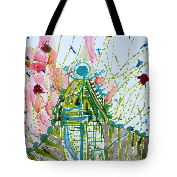 TRAUMA Tote Bag by Fabrizio Cassetta