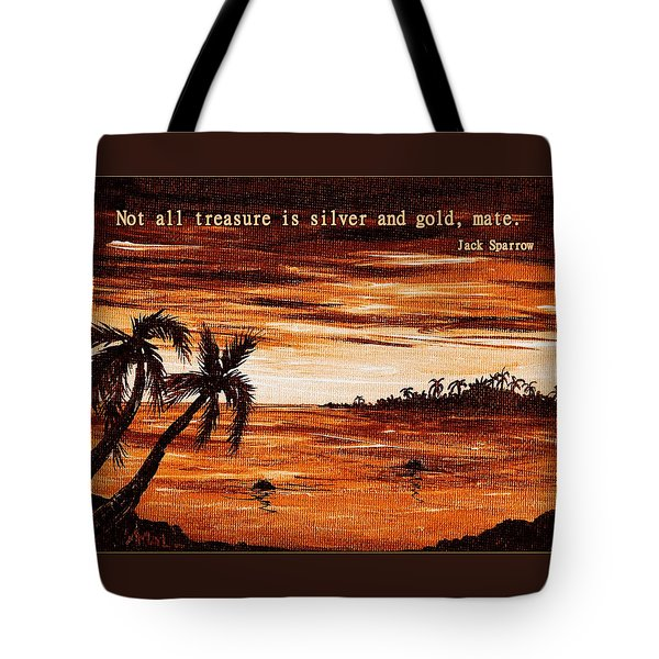 Treasure Tote Bag by Anastasiya Malakhova