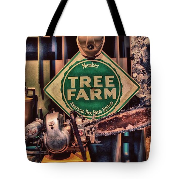 Tree Farm Tote Bag by Todd and candice Dailey
