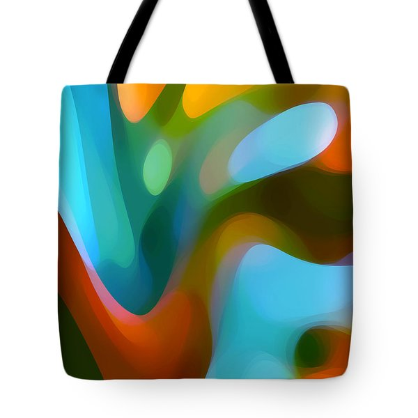 Tree Light 3 Tote Bag by Amy Vangsgard