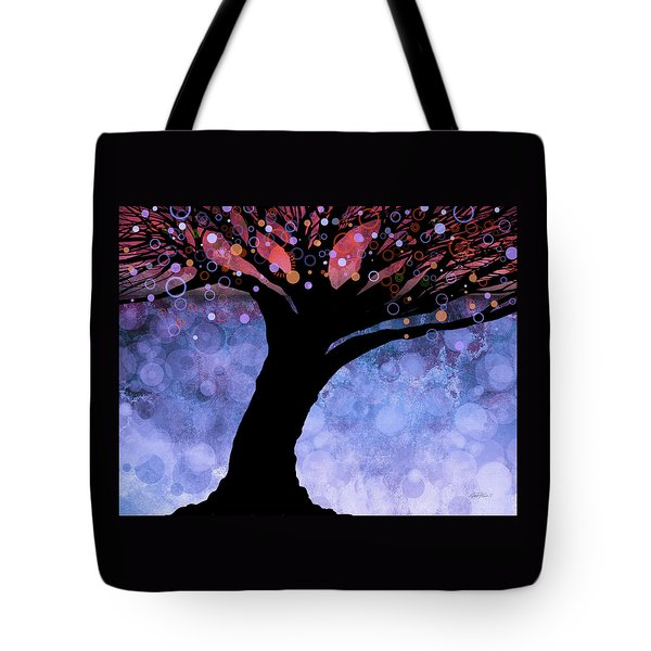 Tree Of Life Three Tote Bag by Ann Powell