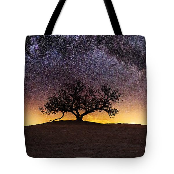 Tree Of Wisdom Tote Bag by Aaron J Groen
