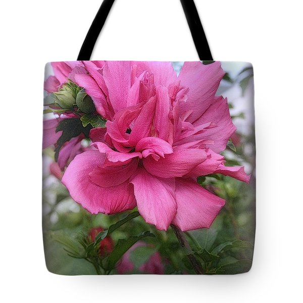 Tree Rose Of Sharon Tote Bag by Kay Novy