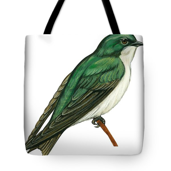 Tree Swallow  Tote Bag by Anonymous