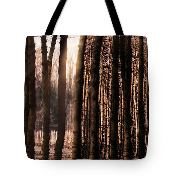 Trees Gathering Tote Bag by Wim Lanclus