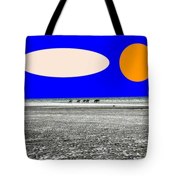 TREKKING Tote Bag by Patrick J Murphy