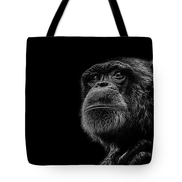 Trepidation Tote Bag by Paul Neville