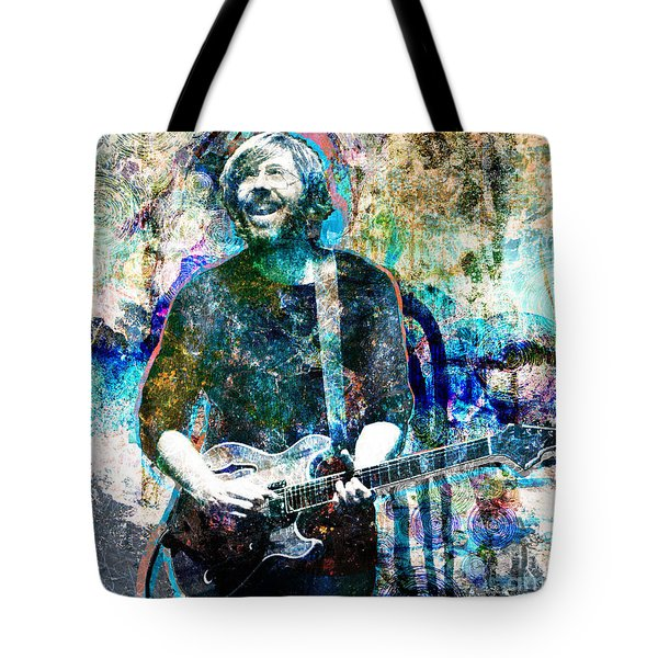 Trey Anastasio - Phish Original Painting Print Tote Bag by Ryan RockChromatic