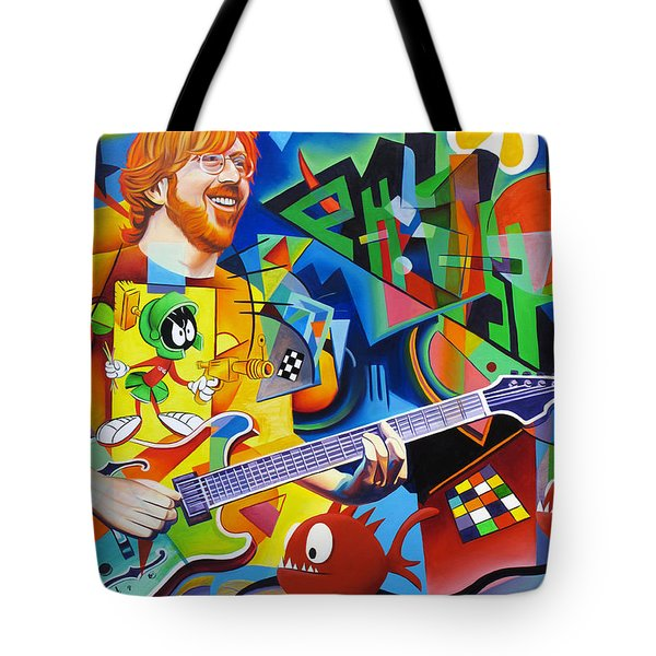 Trey Kandinsky  Tote Bag by Joshua Morton