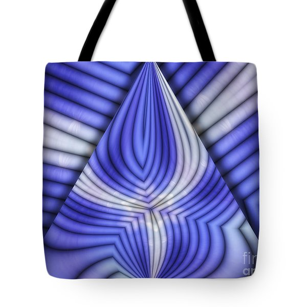 Triangle Tote Bag by Mo T
