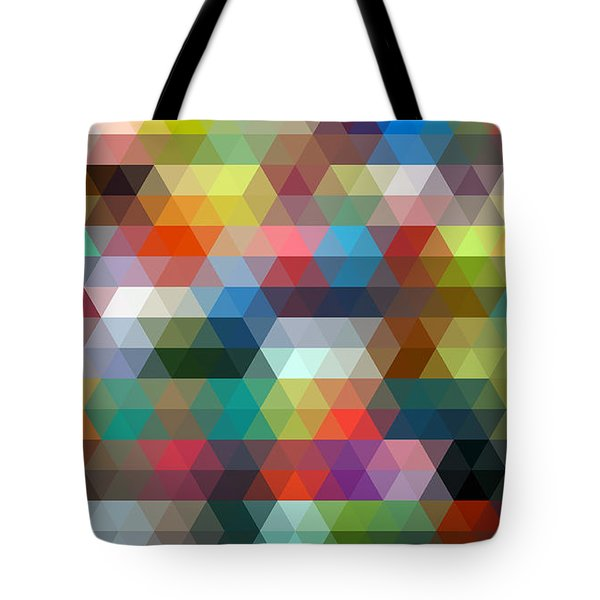 Triangulation 2 Tote Bag by Taylan Apukovska