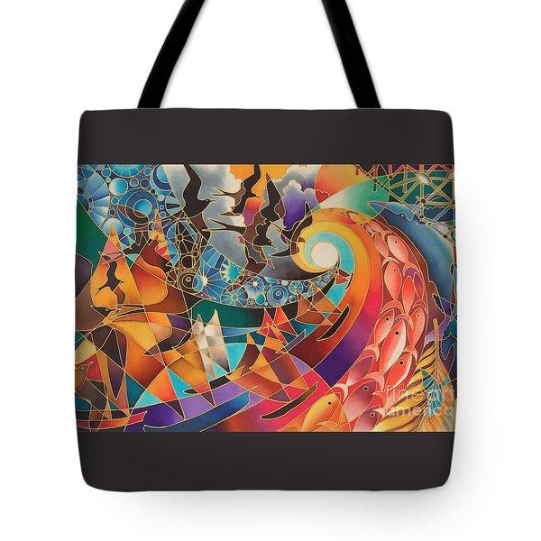 Tribute Tote Bag by Maria Rova