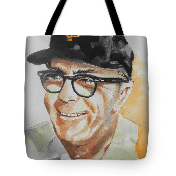 Tribute To Edward Logan My Grandfather  Tote Bag by Chrisann Ellis