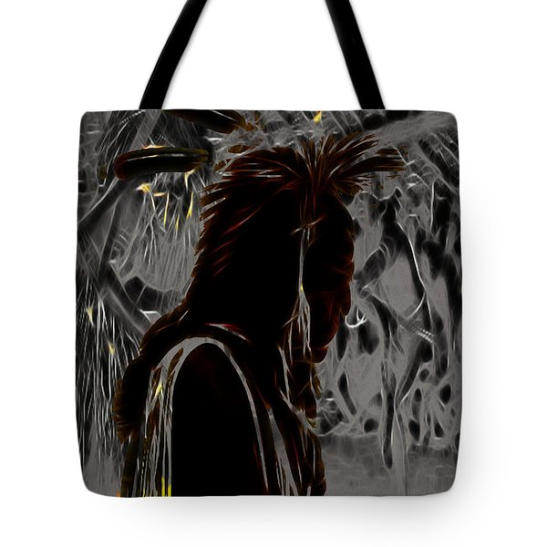 Tribute To Mateo Tote Bag by Cheryl Young