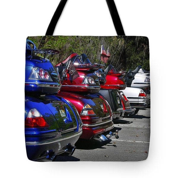Trike - Parade Tote Bag by Christine Till