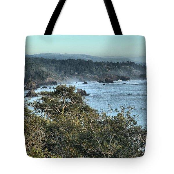 Trinidad Beach Landscape Tote Bag by Adam Jewell