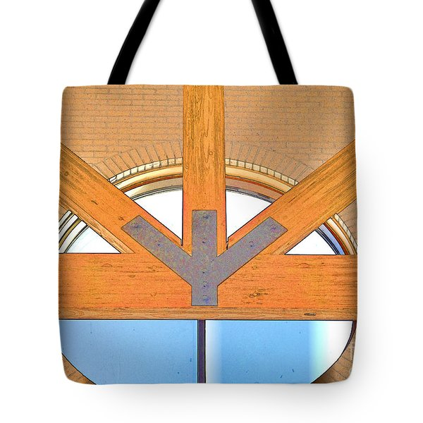 Trinity Series  2 Tote Bag by Luther   Fine Art