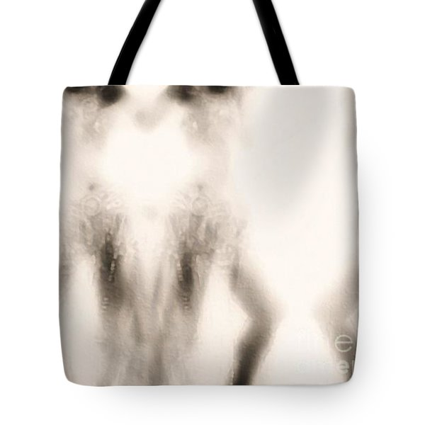 Triplication Tote Bag by Jessica Shelton