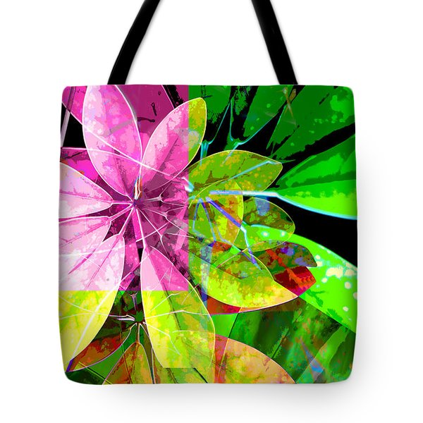 Tropical Delight Two Tote Bag by Ann Powell