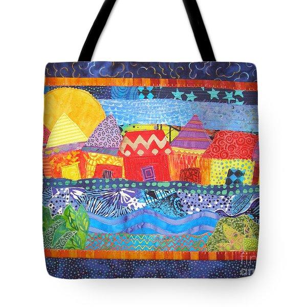Tropical Harmony Tote Bag by Susan Rienzo